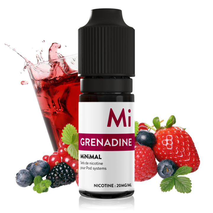 10 ml The Fuu Minimal Nic. Salts - Grenadine 20 mg/ml