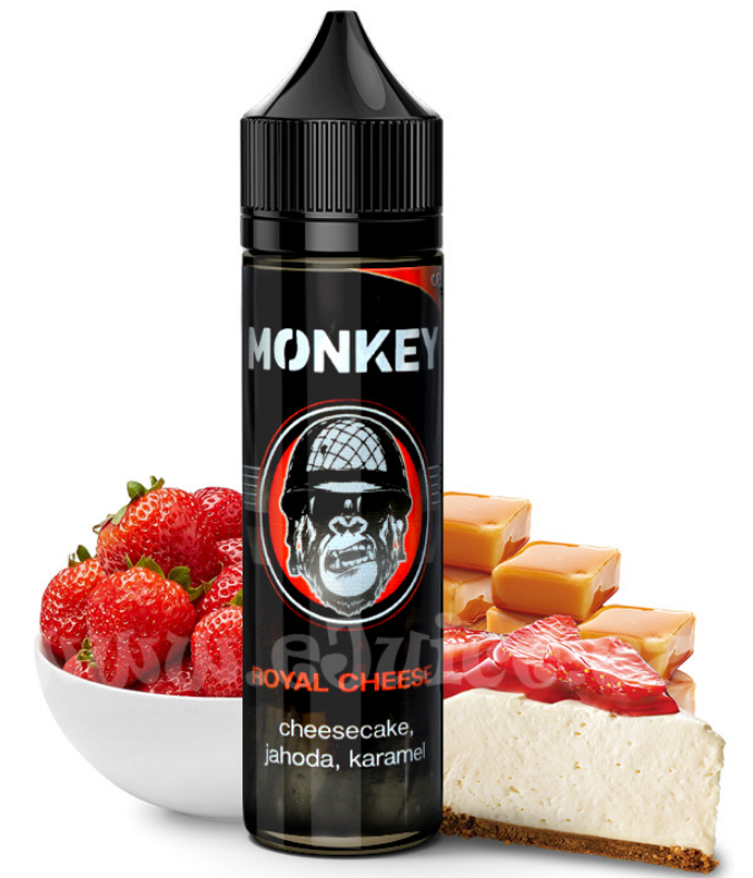 12 ml Monkey Liquid - Royal Cheese (Shake & Vape)